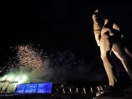 El icónico Estadio dei Marmi de Roma, levantado a pocos pasos del estadio Olímpico, albergará la Golden Gala de atletismo el próximo 17 de septiembre, adelanta este miércoles el diario romano Corriere dello Sport. EFE/Alessandro Di Meo/Archivo