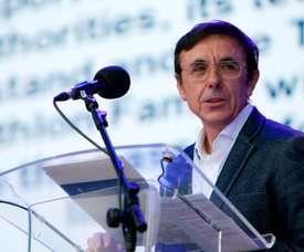 El presidente de ADESP, José Hidalgo. EFE / Salvador Sas/Archivo