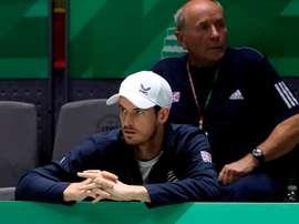 El tenista británico Andy Murray. EFE/Kiko Huesca/Archivo