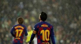 Domenec Torrent charló sobre Messi y Guardiola. EFE