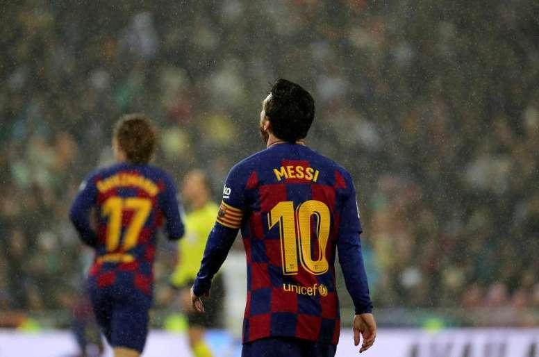 Messi fala sobre o novo futebol. EFE