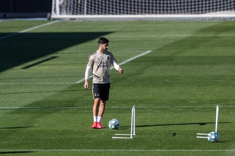 Asensio can't wait to get back playing. EFE