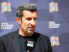 Figo no se arrepiente de fichar por el Madrid. EFE