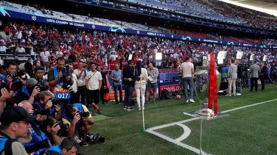 CSD y LaLiga perfilaron el protocolo para los medios en los estadios. EFE