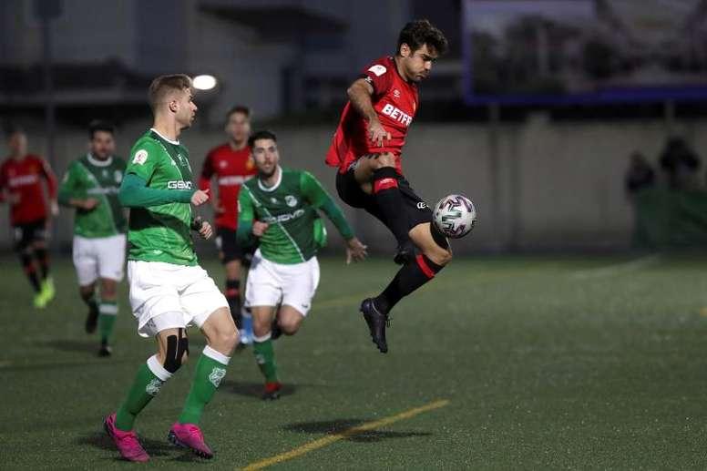Abdón acaba contrato con el Mallorca en verano. EFE