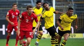 El Bayern dejó la Bundesliga casi sentenciada en Dortmund. EFE/EPA
