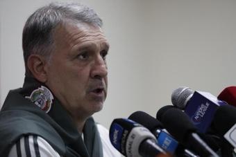 Tata Martino habló sobre Dos Santos. EFE