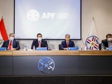 Paraguay volverá el 17 de julio sin público. EFE/Nathalia Aguilar