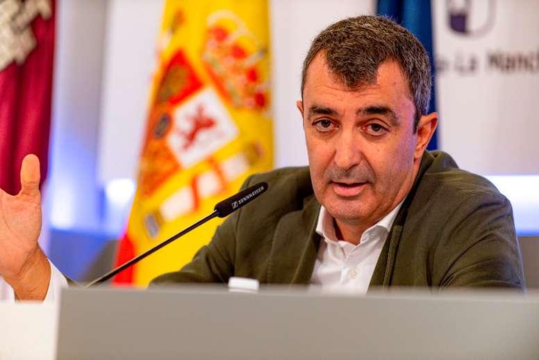 El director de la Vuelta Ciclista a España, Javier Guillén. EFE/Ismael Herrero/Arhcivo