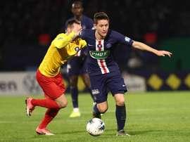 El PSG se proclamó campeón de la Ligue 1. EFE/EPA