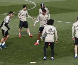 Surprises in Zidane's call up: Jovic, Mariano, Nacho. EFE