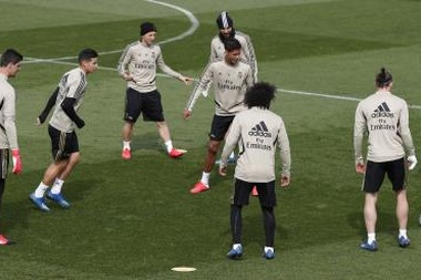 Les joueurs du Real Madrid bénéficient d'un week-end de repos. EFE