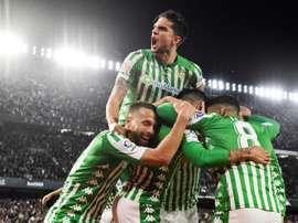 O Betis já sabe o que quer para a próxima temporada. EFE/Raúl Caro