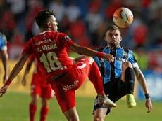 El Atlético anunció a Gremio que cuenta con Caio Henrique para la 2020-21. EFE