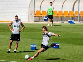 Valence termine sa deuxième semaine d'entraînements en groupes. EFE