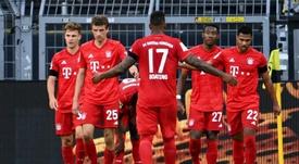 El Bayern ata la Bundesliga y suspira por la Champions. EFE