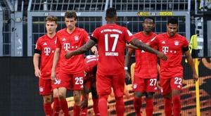 O Bayern quer mais do que apenas a Bundesliga. EFE/EPA/Federico Gambarini