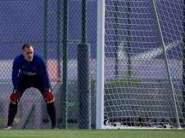 Ter Stegen ve a un Barça fortalecido por el parón. EFE/Archivo