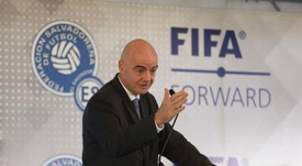 El presidente de la FIFA, Gianni Infantino. EFE/Miguel Lemus/Archivo