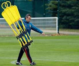 España jugará cinco partidos antes de finalizar el año. EFE