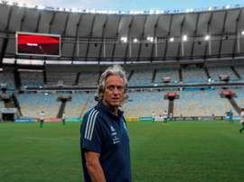 Seguirá en Flamengo un año más. EFE