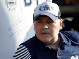 Maradona seguirá otro año más en Gimnasia. EFE