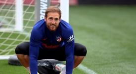 Kepa pode se usado em negociação do Chelsea por Oblak. EFE/Atlético de Madrid