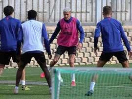 El Atleti vuelve a los entrenamientos grupales sin Costa, Correa, Vrsaljko y Joao Félix. EFE/Atleti