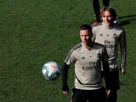 Hazard-Asensio, an unprecedented duo . EFE