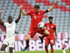 Müller habló de Cristiano y Messi. EFE