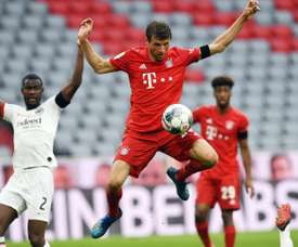 Muller spoke about Cristiano Ronaldo and Messi. EFE