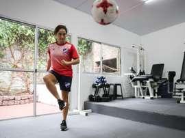 La hermana de Chory Castro, goleadora y formadora de paracaidistas. EFE