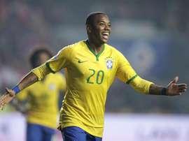 Robinho tiene un nuevo objetivo. EFE