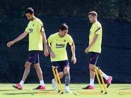 Barcelona will train at the Camp Nou. EFE