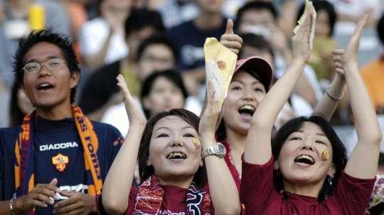 La Liga Japonesa se reanudará dividida en dos áreas. EFE