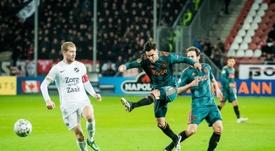 Ajax have set a pricetag of 26 million euros. EFE