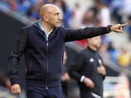 Abelardo es positivo y confía en la salvación del Espanyol. EFE