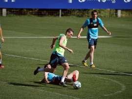 El Eibar debe reaccionar con el retorno de la Liga. EFE