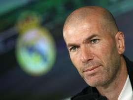 Zidane y el Real Madrid, motivados para ganar el título. EFE