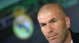 Zidane confirmed Carvajal's injury and a knock to Hazard. EFE/Archivo