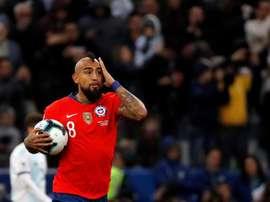 L'Inter Milan oublie Arturo Vidal. EFE