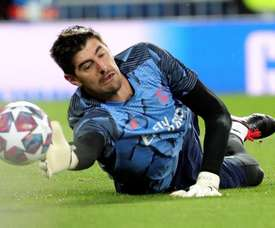 Courtois is officially the best goalkeeper in Europe. EFE