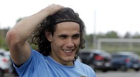 Cavani podría recalar en el fútbol argentino. EFE/Archivo