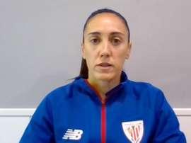 Gimbert seguirá disfrutando del fútbol con el Athletic. EFE