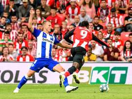 Athletic will play Alavés in a friendly. EFE