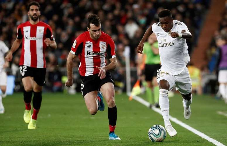 Les compos probables  entre l'Athletic et le Real Madrid. EFE