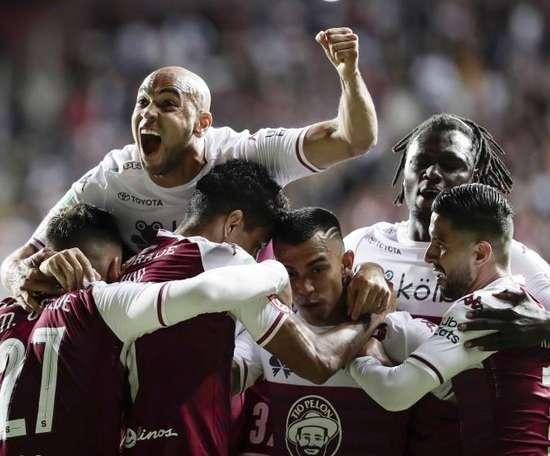 Cartaginés logró el empate que necesitaba ante Guadalupe. EFE