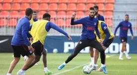 Carrasco devrait rester à l'Atlético de Madrid. afp