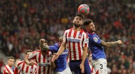 El Atlético-Athletic, uno de los aplazados. EFE