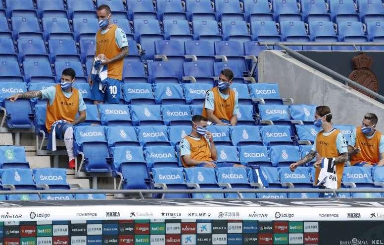 Todos dieron negativo en el Espanyol. EFE